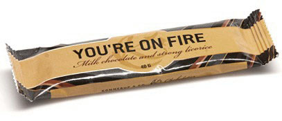 Konnerup & Co. Chocolatier: You are on fire