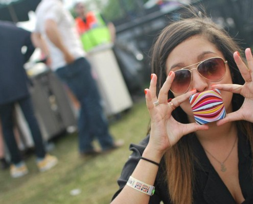 Love-Box Condoms at the Love-Box Festival in London