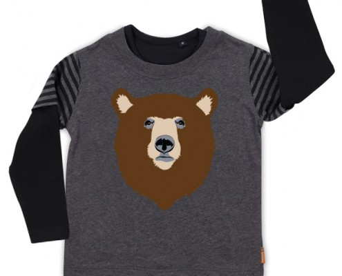 PSST t-shirt Forest Animal: bear