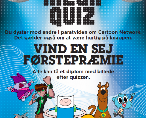 Cartoon Network poster quiz