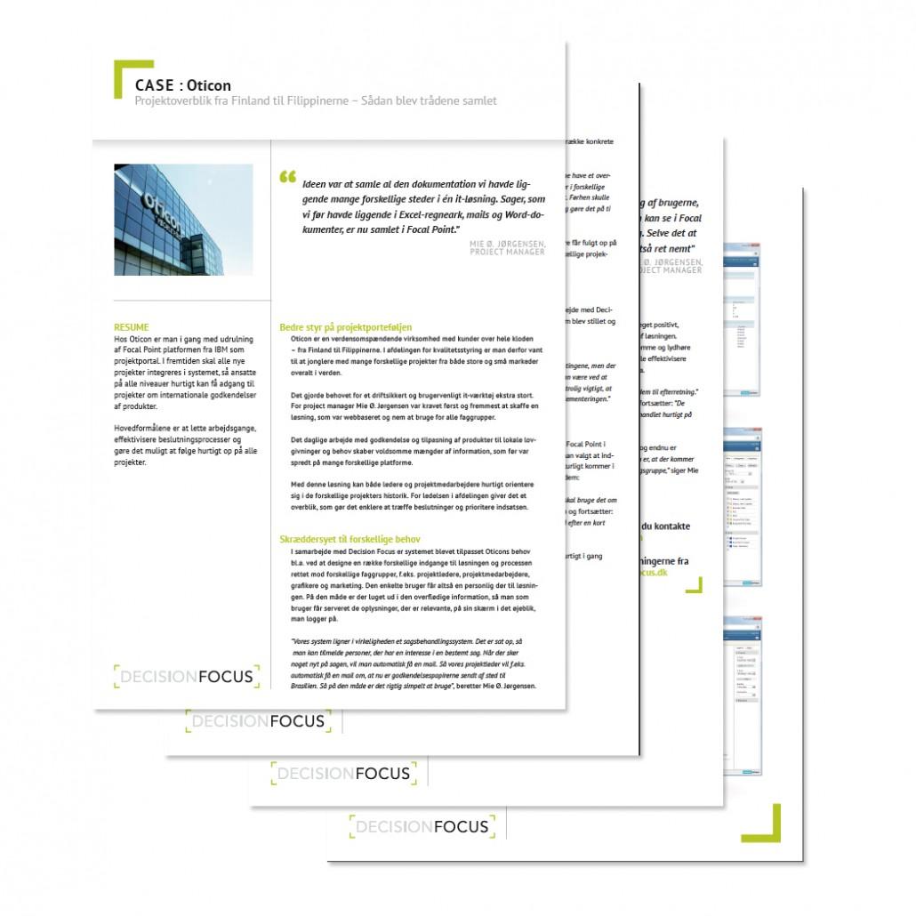 Decision Focus Website And Visuel Identity Utopia Design