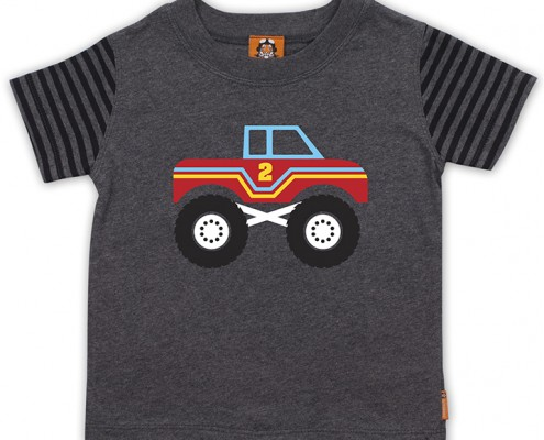 PSST t-shirt monstertruck