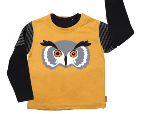 PSST t-shirt Forest Animal: owl