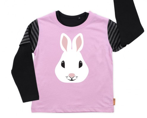 PSST t-shirt Forest Animal: rabbit