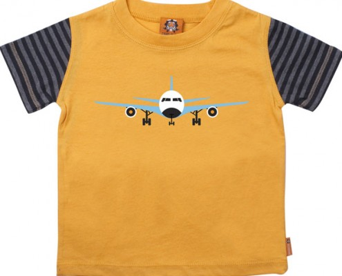 PSST t-shirt airplane
