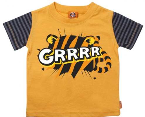 PSST t-shirt Animal Sound: Tiger